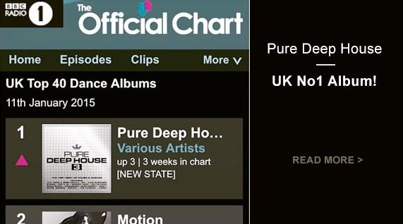 Pure Deep House - UK No1 Album